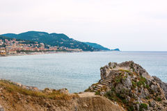 Coast of Liguria Royalty Free Stock Image