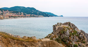 Coast of Liguria Royalty Free Stock Images