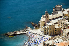 Coast of Liguria Camogli Stock Photography