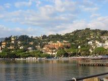The coast of Liguria Stock Photography
