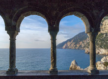 Coast in Liguria Royalty Free Stock Image