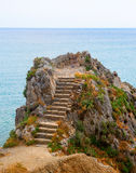 Coast of Liguria Royalty Free Stock Photography