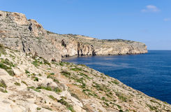 Coast in the limits of Zurrieq - Malta Stock Images