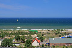 Coast line at the Baltic sea Royalty Free Stock Photos