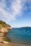 Coast line at Ibiza, Spain Royalty Free Stock Photography