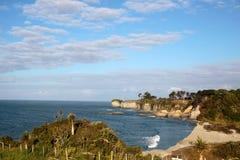 Coast line near Cape Foulwind Royalty Free Stock Image