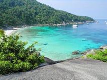 Coast line thailand Stock Image