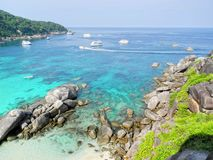 Coast line thailand Royalty Free Stock Photography