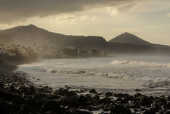 Coast line view in the gran canarias,Europa. Stock Image