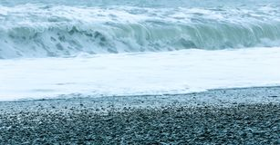 Coast line, water and rocks. stock photos