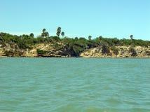 coast linjen Arkivbilder