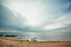 Coast of Lloret de Mar Stock Image