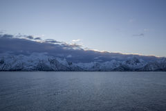 Coast of Lofoten Islands Royalty Free Stock Photography