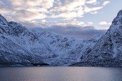 Coast of Lofoten Islands Royalty Free Stock Image