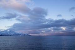 Coast of Lofoten Islands Royalty Free Stock Images