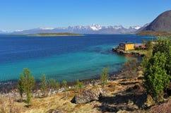 Coast of Lofoten islands, Norway Stock Photography