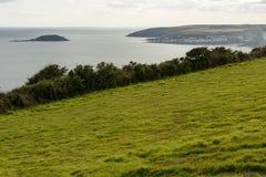 Coast at Looe, Cornwall Stock Photo