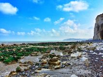 The Coast at low tide Royalty Free Stock Photo