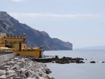 Coast of Madeira stock photography