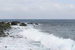 Coast in Madeira Royalty Free Stock Photography