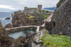 Coast in Madeira royalty free stock photos
