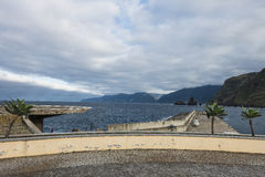 Coast in Madeira royalty free stock photo