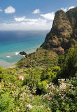 Coast of madeira, portugal Stock Photography