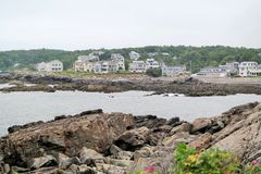 Coast of Maine Royalty Free Stock Photography