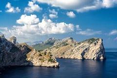 Coast of Majorca Stock Photography