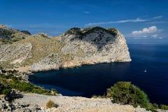Coast of Majorca Royalty Free Stock Image