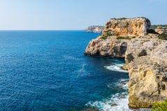 Coast of Majorca (spain) Stock Photo
