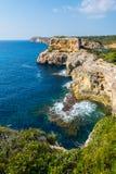 Coast of Majorca (spain) Royalty Free Stock Photo