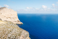 The coast of Mallorca Balearic Islands Stock Photography