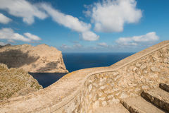 The coast of Mallorca Fermentor Royalty Free Stock Images