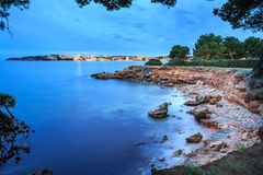 The coast of Mallorca. Island, the Balearic Islands in the Mediterranean Sea, Spain Royalty Free Stock Photography