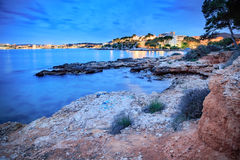 The coast of Mallorca. Island, the Balearic Islands in the Mediterranean Sea, Spain Stock Image
