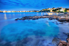 The coast of Mallorca. Island, the Balearic Islands in the Mediterranean Sea, Spain Stock Photo