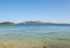 The coast of Mallorca. The coast of Mediterranean sea, Mallorca, Spain Royalty Free Stock Photo