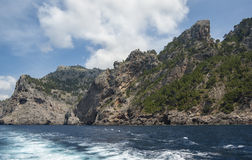 Coast of Mallorca Stock Photography