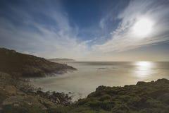 Coast in Punta Nariga Malpica, La coruna - Spain. Coast of Malpica La Coruna, Spain Stock Photos