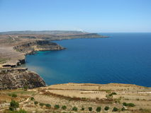 Coast of malta Royalty Free Stock Photography