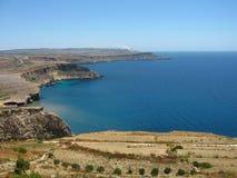Coast of malta Royalty Free Stock Photography