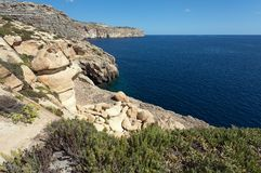 Coast of Malta Royalty Free Stock Images