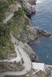 Coast of Manarola Royalty Free Stock Images