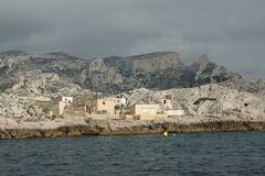 Coast of Marseille Royalty Free Stock Photo