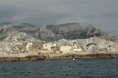 Coast of Marseille Royalty Free Stock Photo