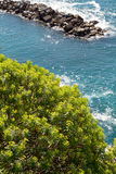Coast mediterranean sea Royalty Free Stock Photos