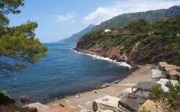 The coast of Mediterranean sea Royalty Free Stock Photo