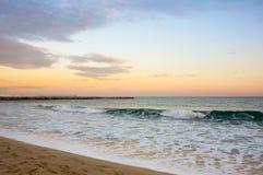 The coast of Mediterranean sea Royalty Free Stock Photography