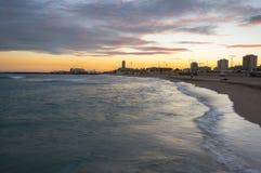 The coast of Mediterranean sea Royalty Free Stock Image